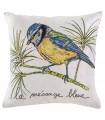 Cushion cover The blue tit