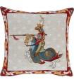 Cushion cover Knight-unicorn