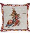 Cushion cover Chevalier au lion