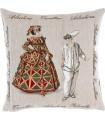 Cushion cover Arlecchina - Pulcinella
