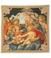 Tapestry LA MADONE DE BOTTICELLI